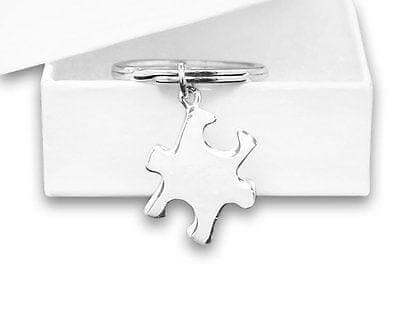 Autism Awareness Puzzle Piece Key Chain - The House of Awareness