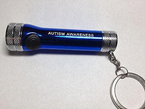 Autism Awareness Mini Flashlight - The House of Awareness