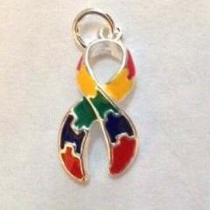 Puzzle Charm for Autism Awareness ASD and Asperger Awareness - The House of Awareness