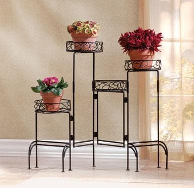 Four-Level Plant Stand For Inside - The House of Awareness