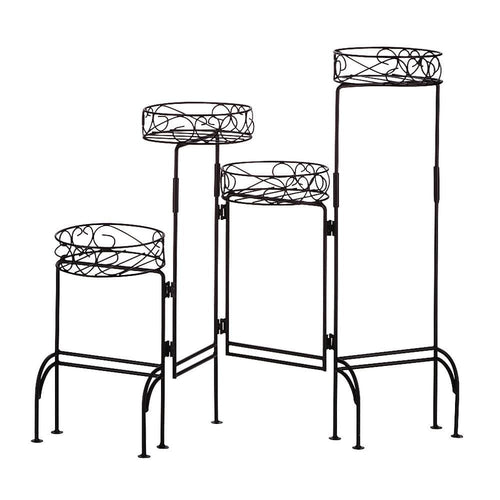 Set of 2 Four-Level Plant Stands For Inside - The House of Awareness