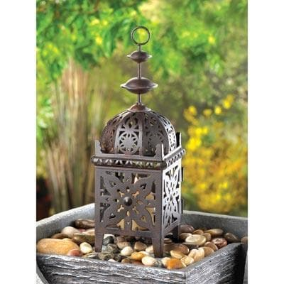 Ornate Moroccan Lantern - The House of Awareness