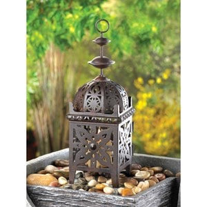 Metal Moroccan Style Lantern - The House of Awareness