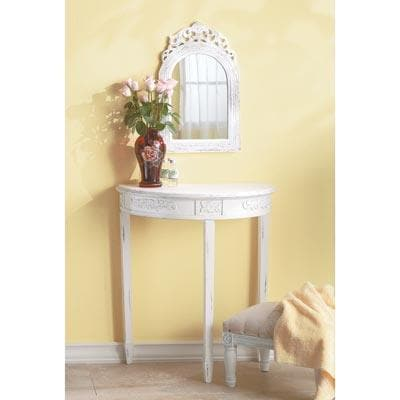 Arched-top Wall French Country Mirror - The House of Awareness