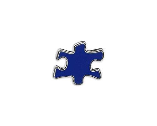 Blue Puzzle Piece Autism Pin - The House of Awareness