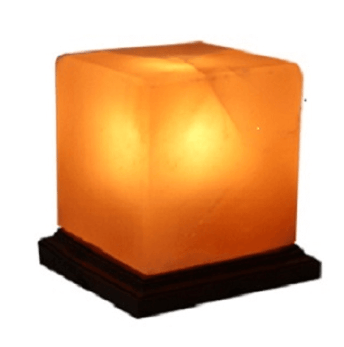 Cube Himalayan Salt Lamp - The House of Awareness