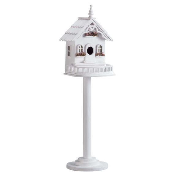 Freestanding Victorian Birdhouse , Birdhouses - Home Locomotion, The House of Awareness  - 1