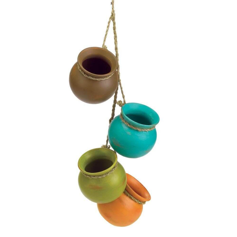 Dangling Mini Pots - The House of Awareness