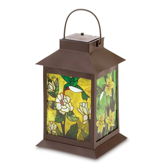 Solar-powered Floral Lantern - The House of Awareness