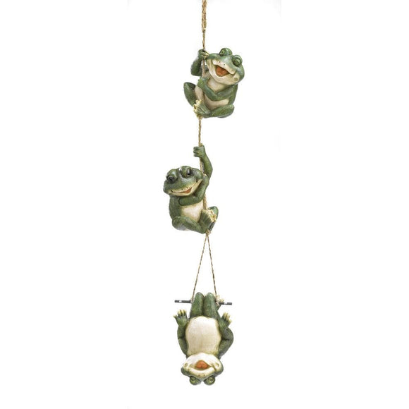 Frolicking Frogs Hanging Decor - The House of Awareness