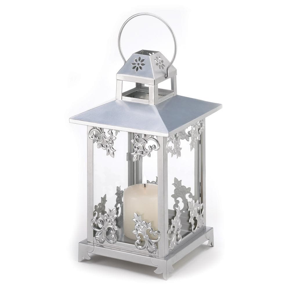 Frosted Vines Candle Lantern - The House of Awareness