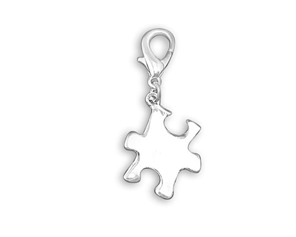 Autism Puzzle Piece Hanging Charm - The House of Awareness
