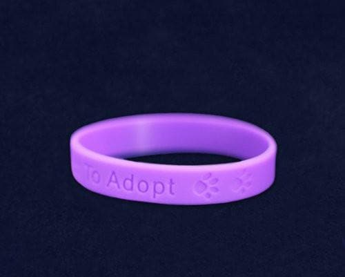 Animal Opt To Adopt Silicone Child Size Bracelet - The House of Awareness