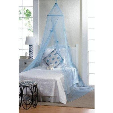 Blue Butterfly Bed Canopy - The House of Awareness