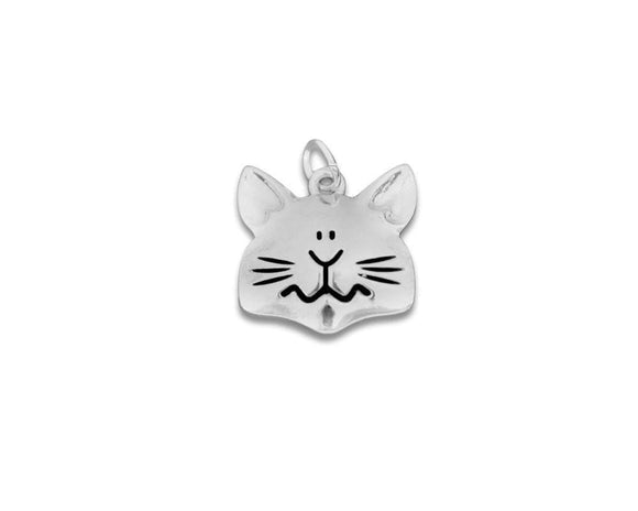 Cat Face Shaped Charm - The House of Awareness
