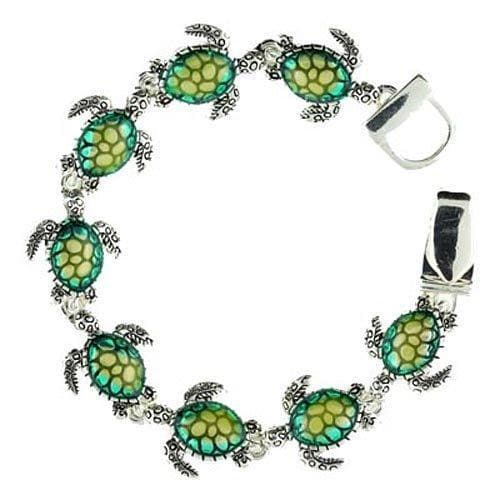 Sea Turtle Link Magnetic Clasp Bracelet - The House of Awareness