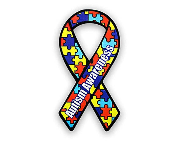 Autism Paper Ribbons for Autism Awareness - The House of Awareness