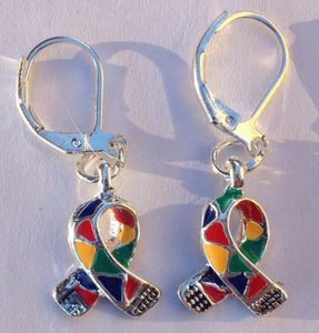 Autism Awareness Charm Earrings - The House of Awareness