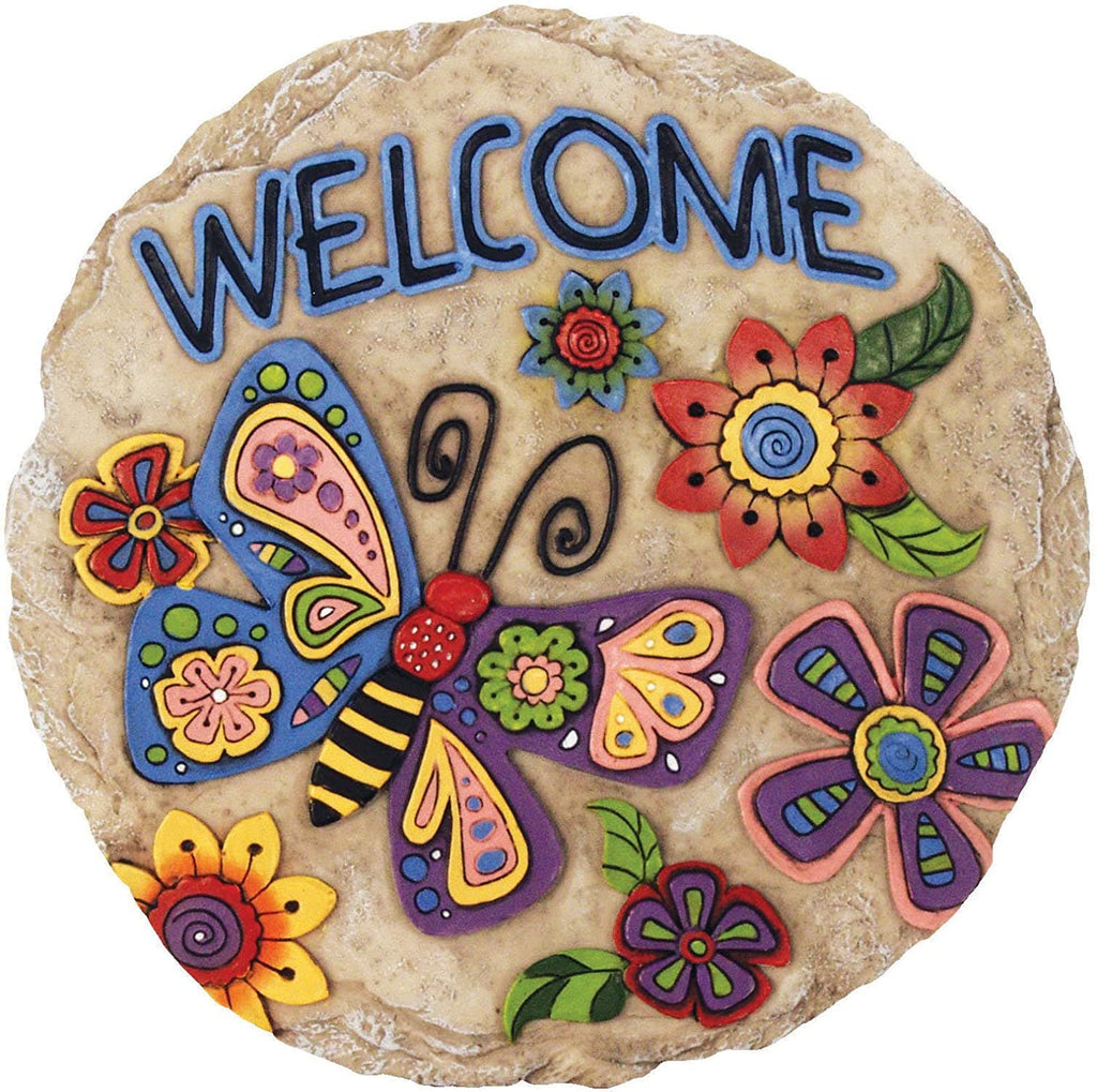 Welcome Decorative Garden Stone