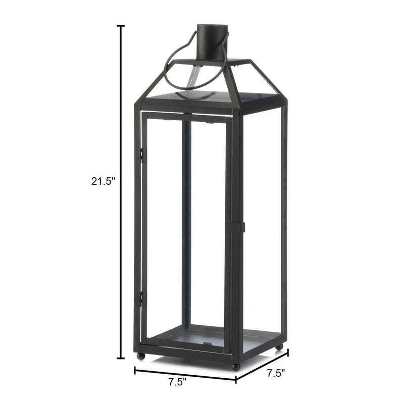 Stylish Large Black Lantern