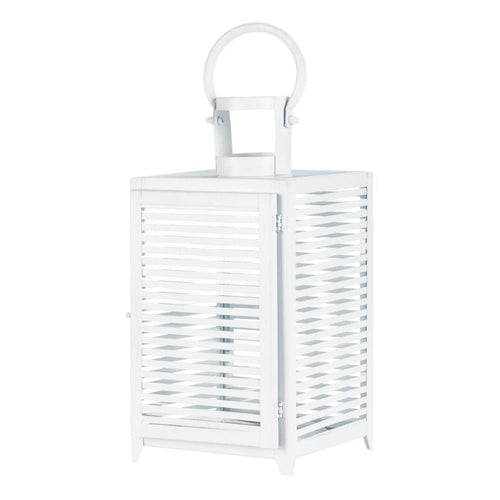 Small, Medium, and Large White Horizon Lantern