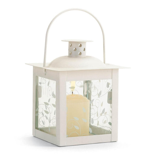 Large and Small Ivory Vine Lantern