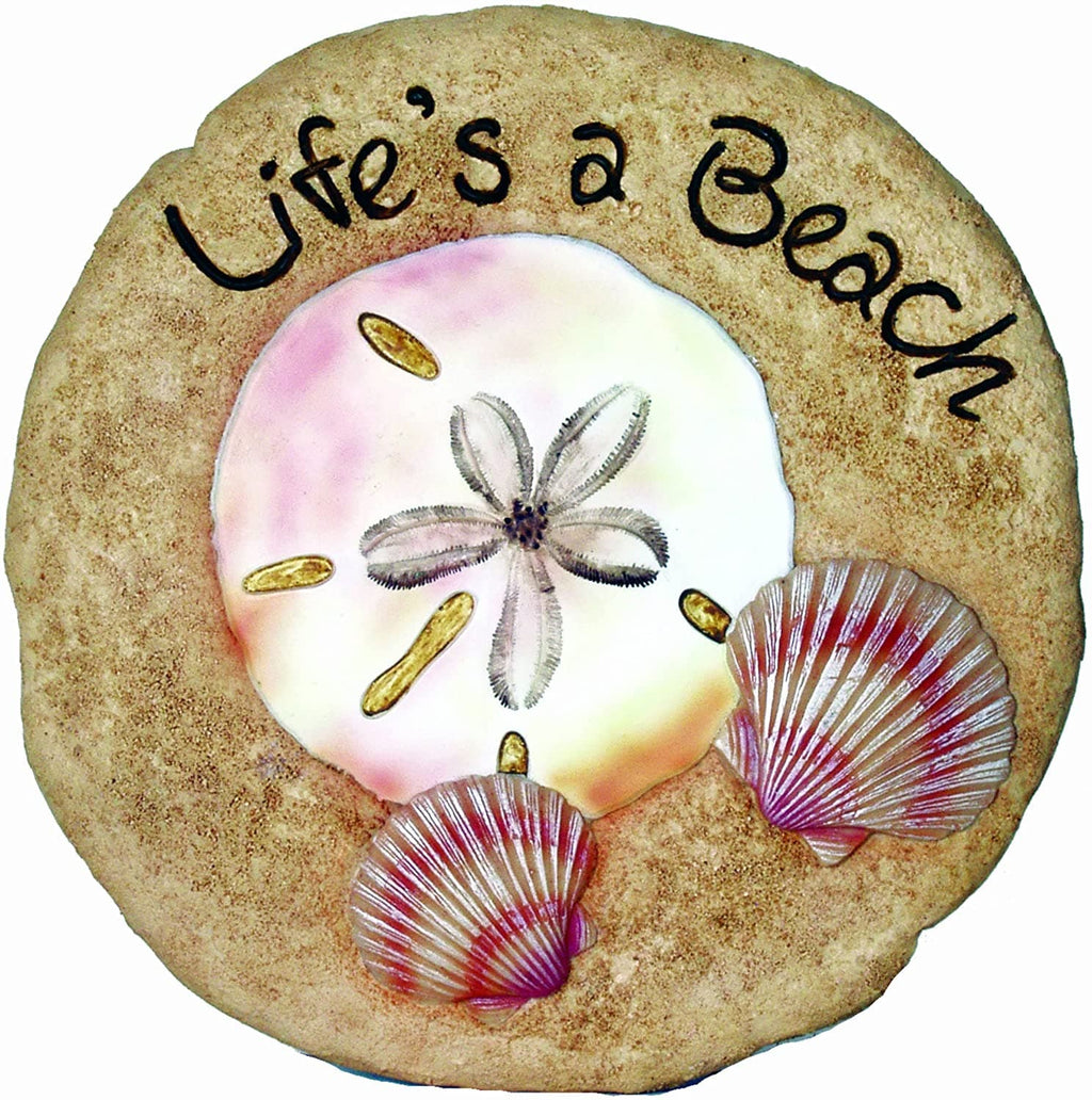 Shell Beach Decorative Garden Stone