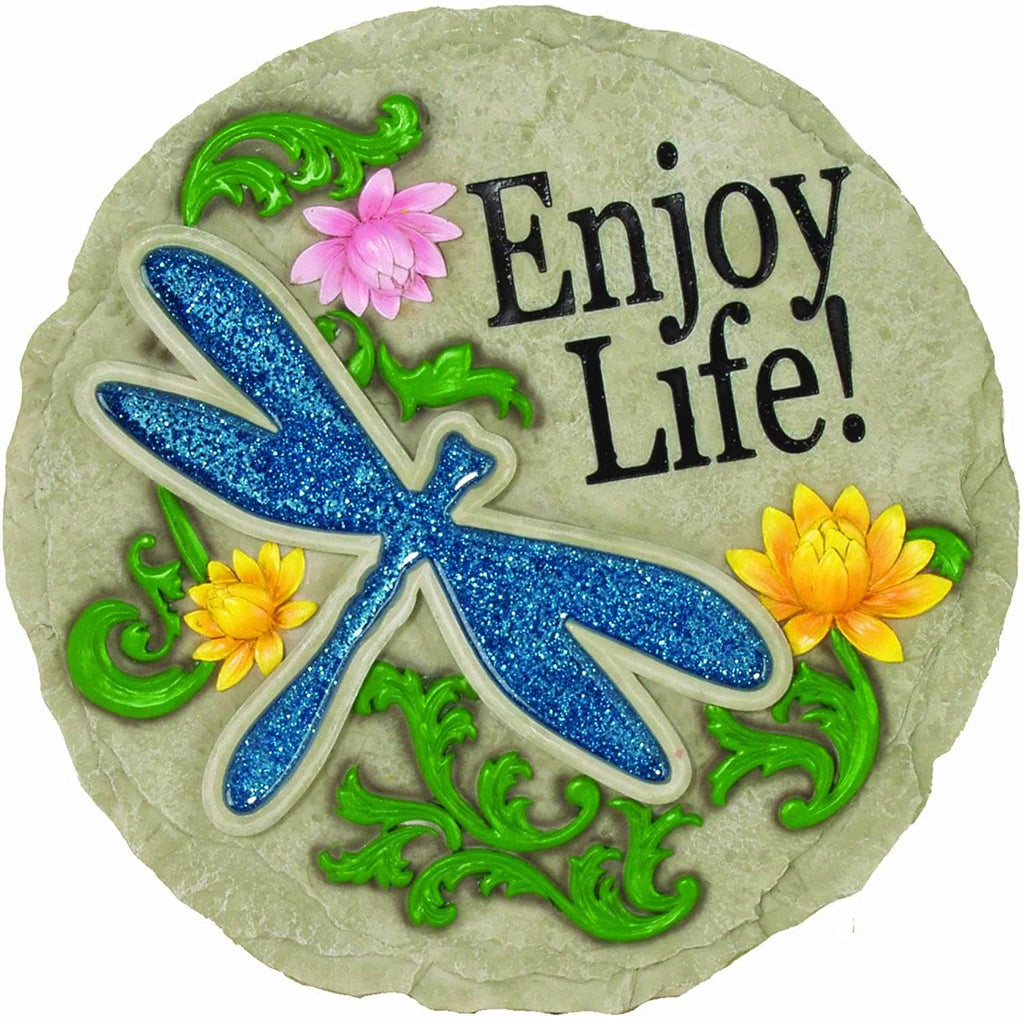 Enjoy Life Decorative Garden Stone
