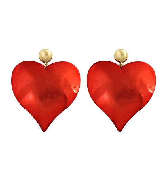 Heart Post Earrings , Women - Jewelry - Earrings - The House of Awareness, The House of Awareness  - 1