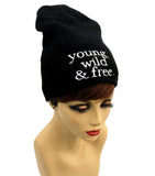 Young Wild Free Beanie , Women - Accessories - Hats - The House of Awareness, The House of Awareness  - 1