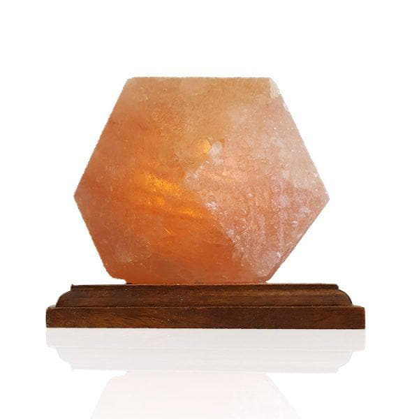 Diamond Himalayan Salt Lamp