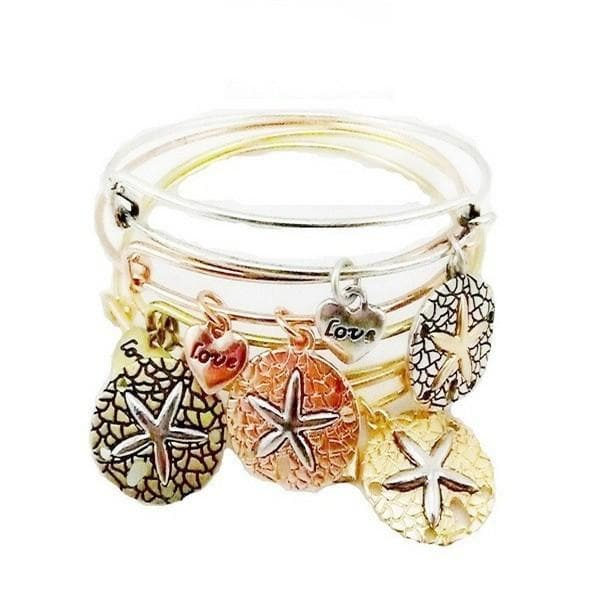 Vintage Starfish Alloy Pendant Bracelet - The House of Awareness