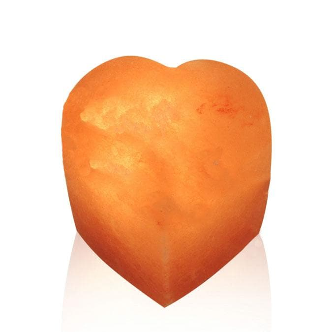 Seated Heart Himalayan Salt Lamp - The House of Awareness