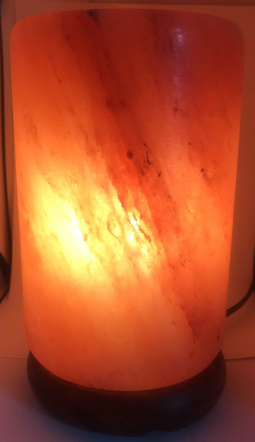 Cylinder Himalayan Salt Lamp - The House of Awareness