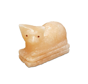Mau Cat Himalayan Salt Lamp - The House of Awareness