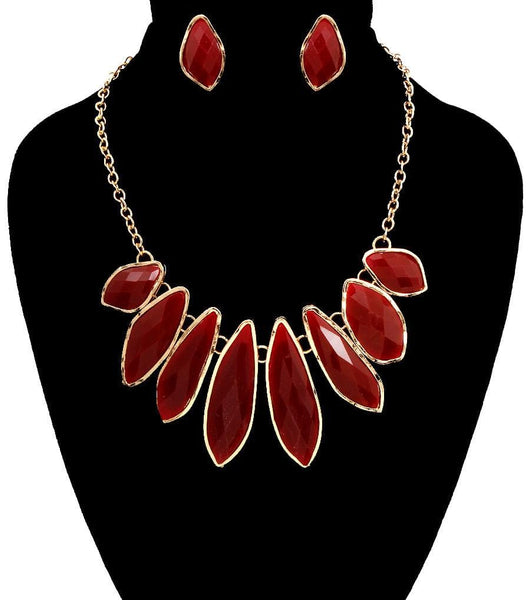 Shaped Beads Necklace Set