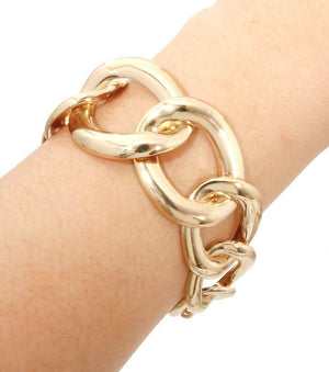 Bold Gold Chain Bracelet - The House of Awareness