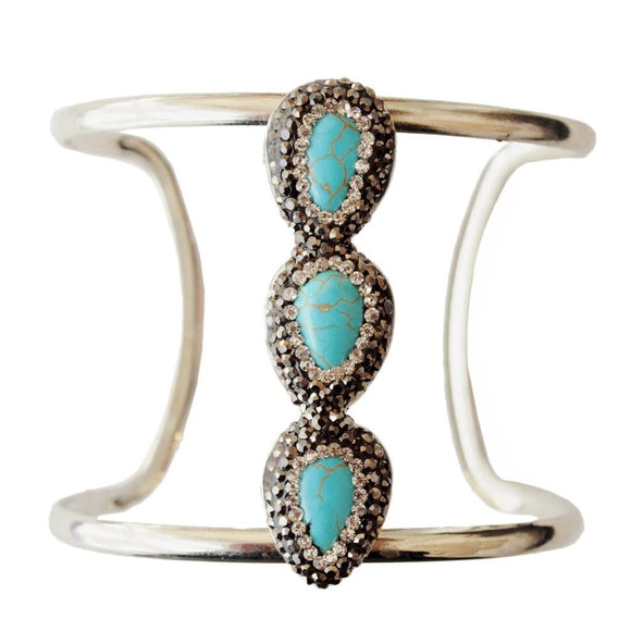Isis Turquoise Cuff - The House of Awareness