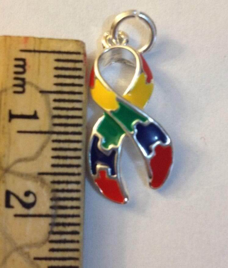2 Puzzle Charms for Autism Awareness - The House of Awareness