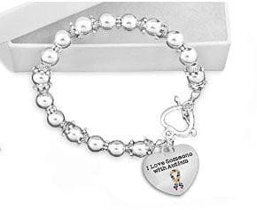 I Love Someone with Autism Beaded Bracelet - The House of Awareness