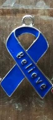 Believe Blue Charm For Awareness Causes - The House of Awareness