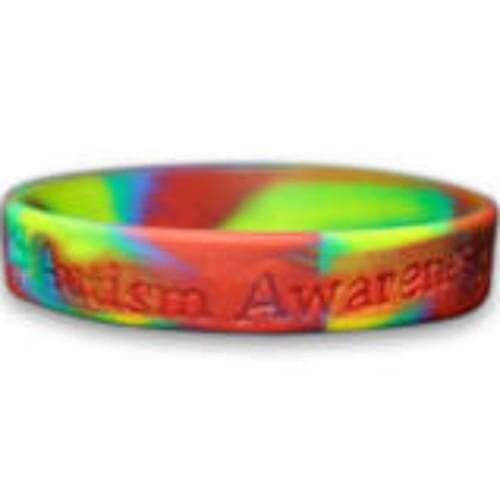 Child Size Autism Awareness Silicone Bracelet - The House of Awareness