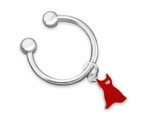 Red Dress Awareness Key Chain for Heart Disease - The House of Awareness