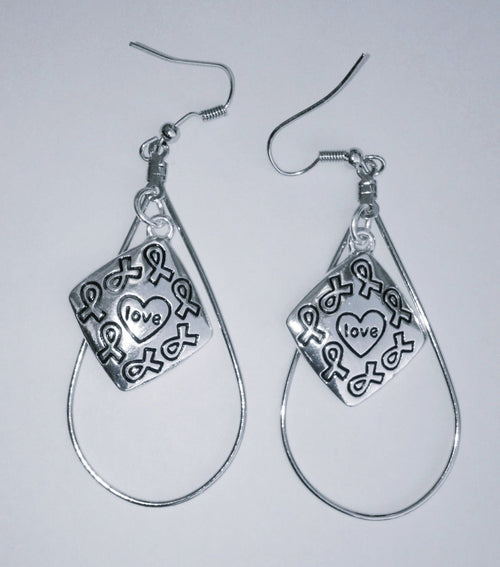All Causes Awareness Love Charm Earrings - The House of Awareness