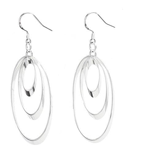 Vortex Sterling Silver Designer Earrings - The House of Awareness