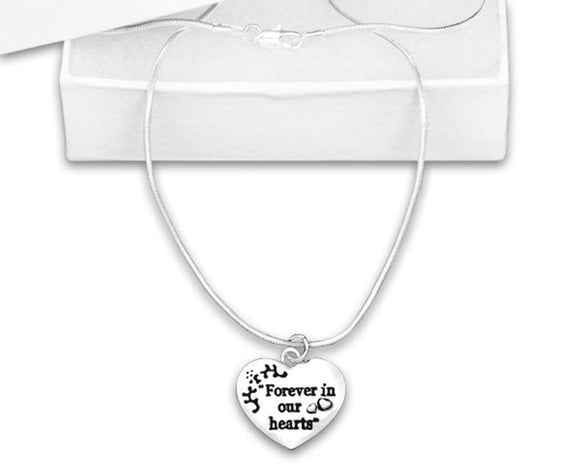 Forever In Our Hearts Necklace for all Causes - The House of Awareness