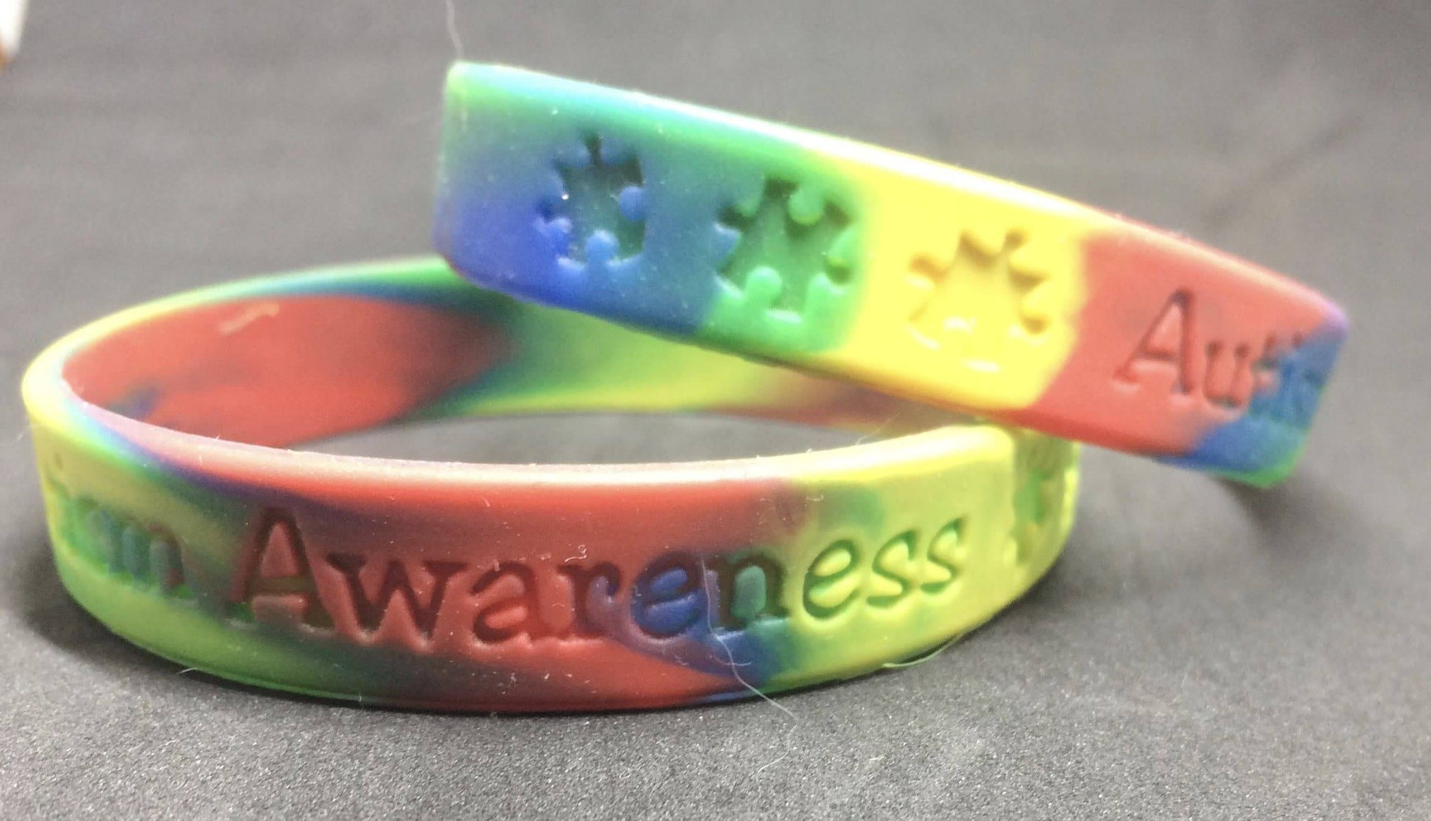 it pinterest pin blue awareness up bangle work bracelet stuff autism light