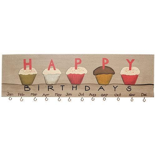 Cupcake Birthday Calendar - The House of Awareness