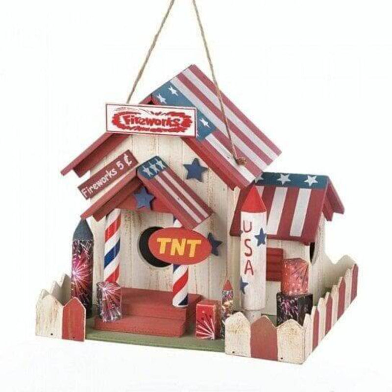 Fireworks Stand Birdhouse - The House of Awareness