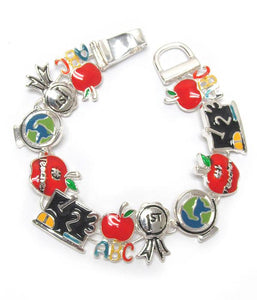 School theme magnetic bracelet - The House of Awareness